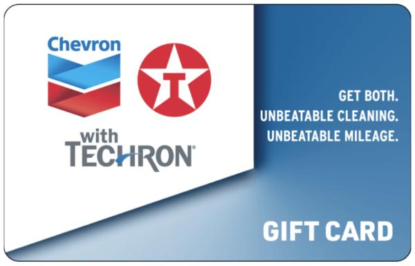 Enter to WIN a Chevron Texaco $20 Gas Card!